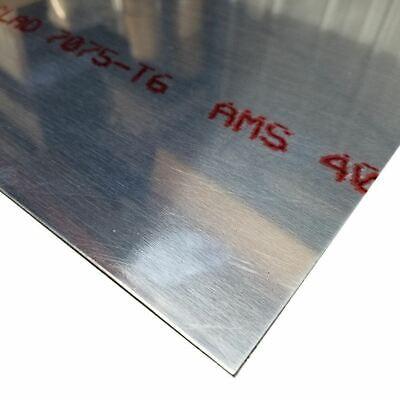 7075-t6 Alclad Aluminum Sheet 0.071 X 12 X 24
