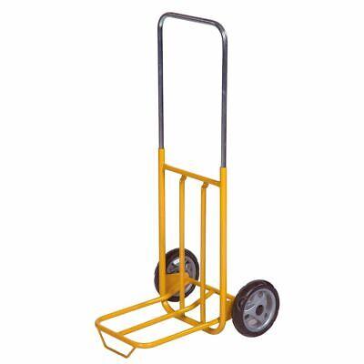 50KG Folding Yellow Sack Luggage Warehouse Industrial Trolley Cart KM100 K7Y