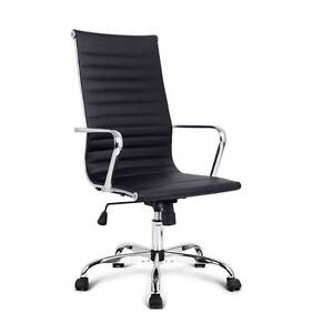 SALE:  Eames Replica PU Leather Executive Designer Office Chair Melbourne CBD Melbourne City Preview