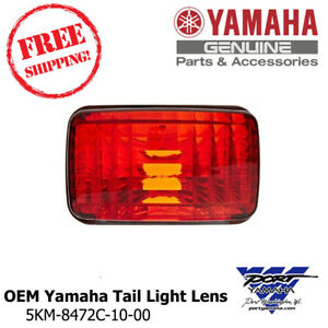 Yamaha OEM Tail Light Lens Grizzly Big Bear Bruin Kodiak Wolverine Rhino Viking