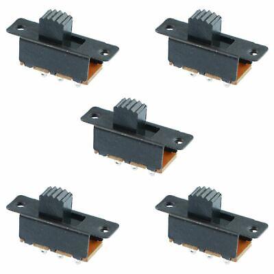 5 X Mini Miniature Model Railway Slide Switch 2-position Spdt