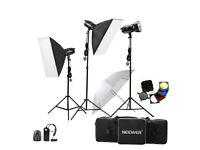 Neewer® Professional Photography Studio Flash Strobe Light Lighting Kit PLUS Backstands