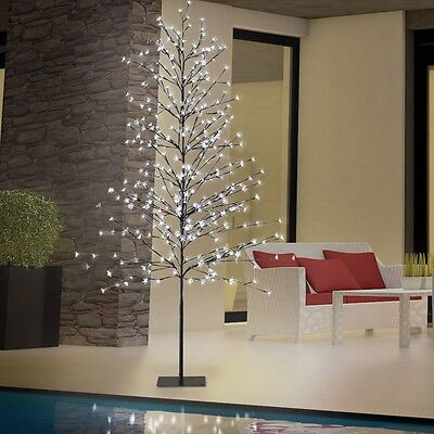 380x LED Baum Deko Outdoor Außen Stand Garten Leuchte Hof Lampe IP44 Veranda