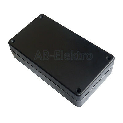 ABS Kunststoffgehäuse 154 x 84,8 x 42,5mm  schwarz plastik gehäuse