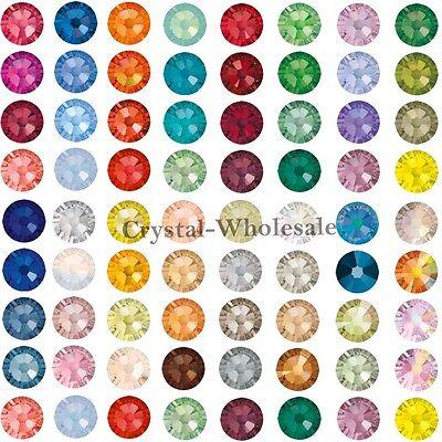 144 Swarovski 2058 5ss crystal flatbacks rhinestones nail art 1.8mm ss5 A-D