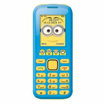 LEXIBOOK DESPICABLE ME MINIONS NO CONTRACT DUAL SIM MOBILE PHONE GSM20DES