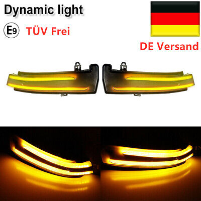 Blinker für Mercedes W204 W176 W246 W212 Dynamische LED Aussenspiegel Blinker