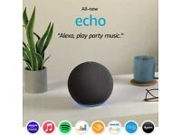 Brand new All-new Echo (4th generation) , Black, Unopened