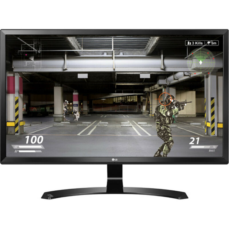 "LG 27UD58-B 27"" Class 4K UHD IPS Freesync Gaming Splitscreen LED Monitor"