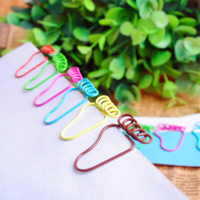 12pcs Feet Shaped Metal Bookmarker Paper Clip Memo Clips School Office Supplies