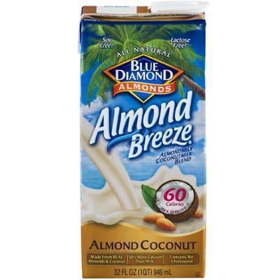 Almond Breeze-Original Almond Coconut Blend(12-32 oz bottles)