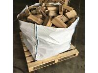 Dry HARDWOOD Logs Seasoned FIREWOOD