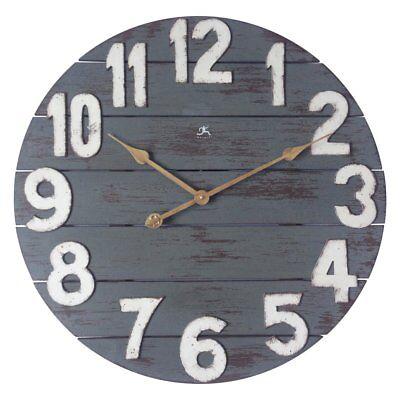 Infinity Instruments Tree House Wall Clock, Blue