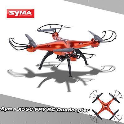 High Quality Syma X5SC/X5SC-1 4CH 2.4G 6-axis RC Quadcopter +2MP HD Camera X8R9