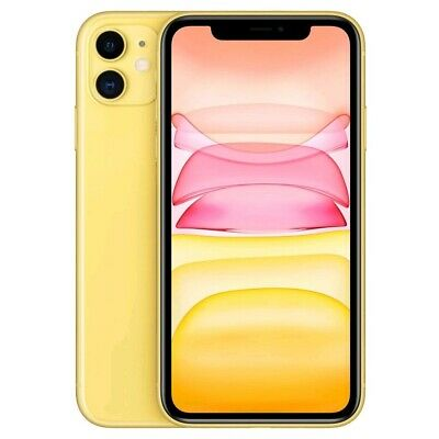 Apple iPhone 11 128GB Dual nano-SIM (Precintado) - [Amarillo]