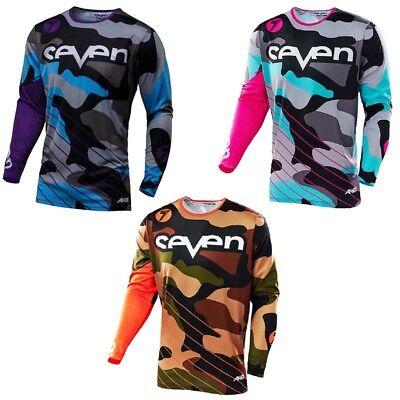 Seven Long Sleeve Shirt Moto Cross Mountain Bike Downhill Dirtbike Riding Jersey (Long Sleeve Riding Shirt)