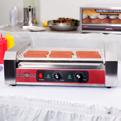 Grand Slam 24 Hot Dog Roller Grill With 9 Rollers 110v 1350w