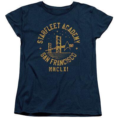 Star Trek Starfleet Academy San Francisco Women's T-Shirt All - Star Trek Shirt Womens