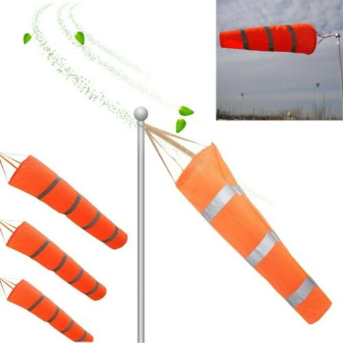 Outdoor Windsock Reflective for Airport Garden Patio Lawn Wi