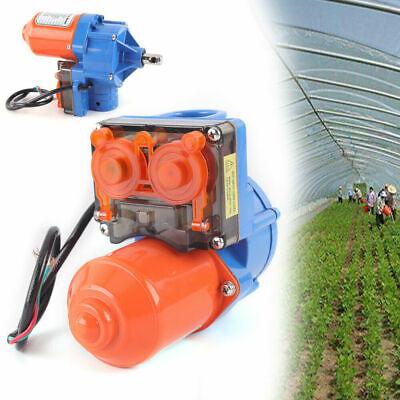Eléctrico invernadero 24V enrolla arriba solución ventilación automática el 100m