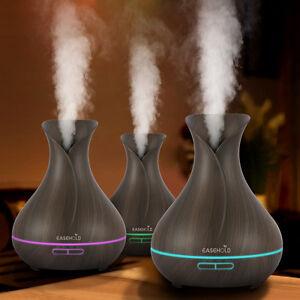 Easehold LED Luftbefeuchter Ultraschall Aroma Diffuser Raumduft Aromatherapie DE