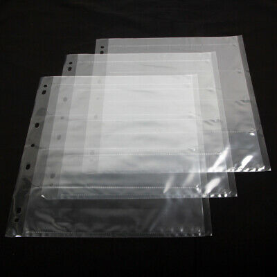 30x 120 Ring Binder Archival Storage Page Sheets B&W Color Film Negative Slide