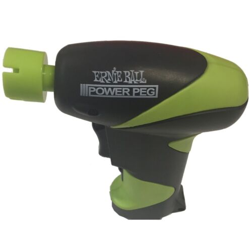 Ernie Ball Pegwinder Electric Battery Power peg String Winder Tool Powerpeg