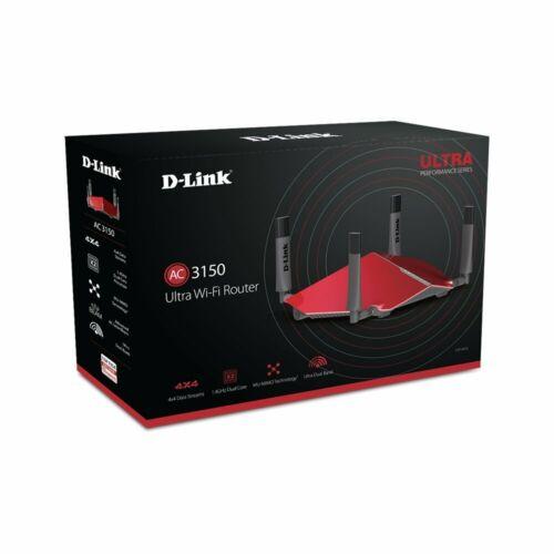 D-Link DIR-885L/R Wireless AC3150 Gaming Gigabit Cloud Ultra Performance Router