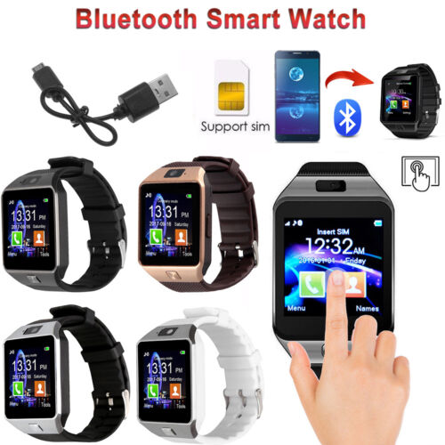 Details about DZ09 Bluetooth Smart Watch Phone Camera SIM for iPhone  Samsung LG Android Phones