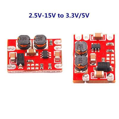 Dc-dc Automatic Step Up Step Down 2.5v-15v To 3.3v 5v Buck-boost Module