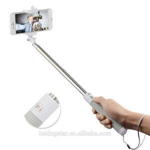 selfie stick telescopic remote mobile phone selfie holder ebay. Black Bedroom Furniture Sets. Home Design Ideas