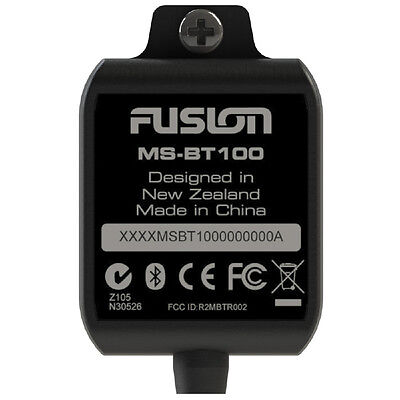 Fusion Bt100 Bluetooth Dongle  For All Head Units Aux Rca [Ms-Bt100]