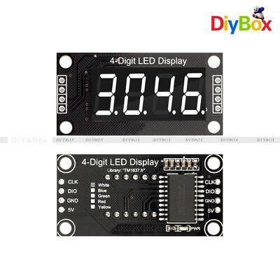 0.36 Tm1637 7-segment 4-digit White Digital Tube Led Display Module For Arduino