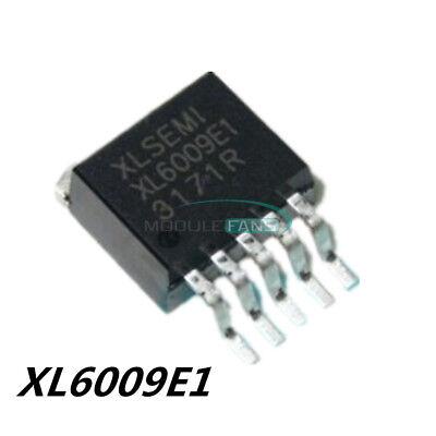2pcs Xl6009 Xl6009e1 Dc-dc Adjustable Boost Step-up Ic To-263 42v4a400khz