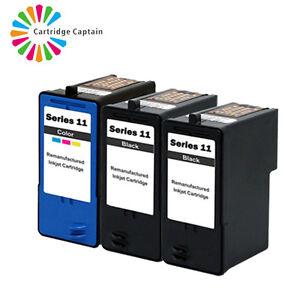 1 SET+ 1 Black Dell V505 printer ink cartridges for 11 series Black And Colour
