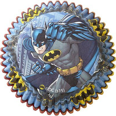 Batman Cupcake Liners - 50 - Batman Cupcake Liners