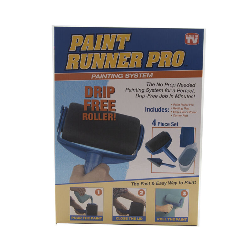 Paint Runner Pro Painting System 4 pc Set As Seen On TV