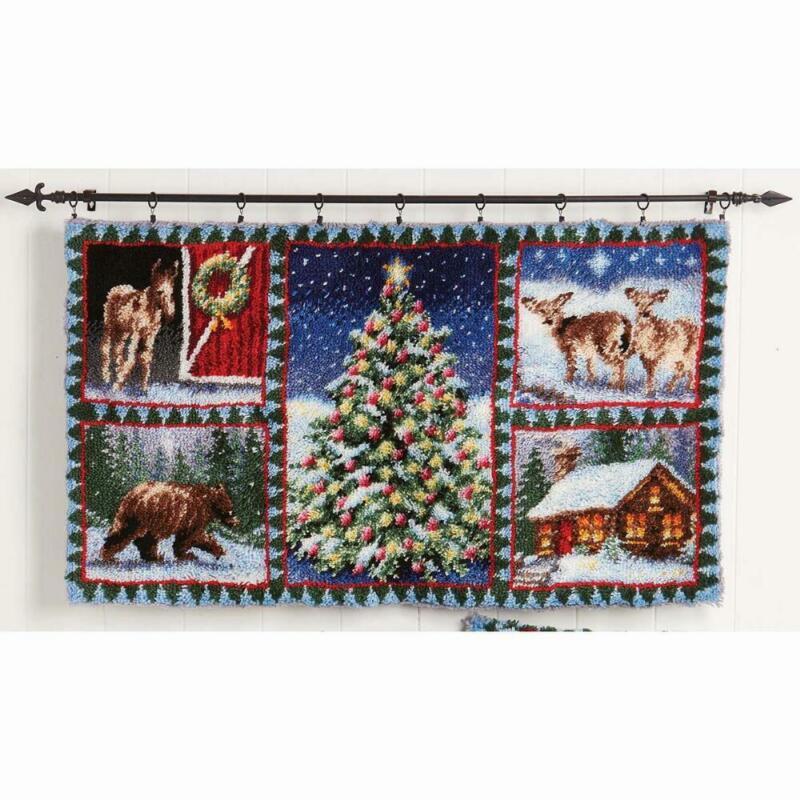 Herrschners® Christmas Windows Latch Hook Kit
