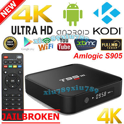 2016 T95m 4K Android 6.0 Quad Core Smart WIFI TV Box Fully Loaded