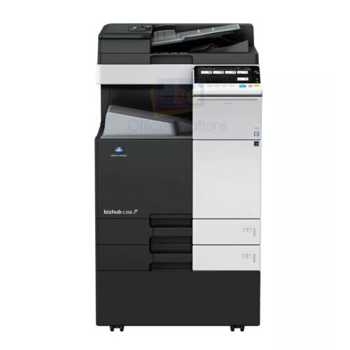 Konica Minolta Bizhub C368 A3 Color Laser Copier Printer Scanner Mfp 36ppm C308
