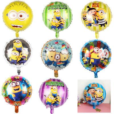 Minion Balloons (New Air Balls Yellow Minions Balloons Despicable Me balloon Helium Minion Party)