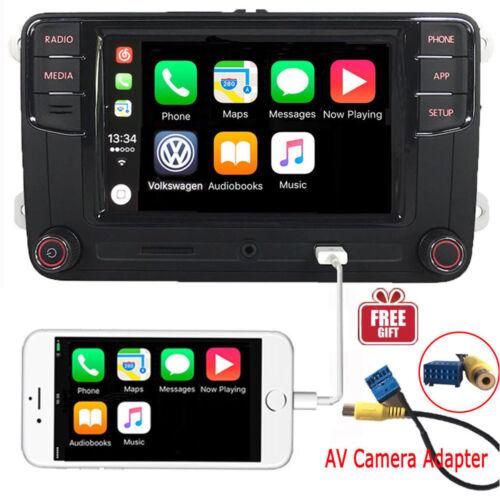 """6.5""""Car Audio MIB2 RCD330 Carplay Mirrorlink Bluetooth RVC VW CADDY GOLF POLO CC"""