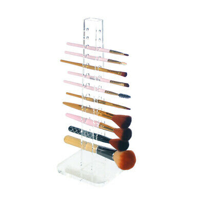 NEW! DELUXE COSMETIC /BRUSH ORGANIZER - ACRYLIC BRUSH/PENCIL STORAGE TOWER
