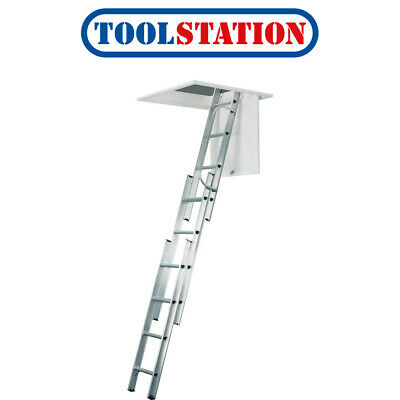 Werner Aluminium Loft Ladder 3 Section