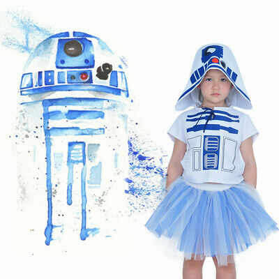 Star Wars R2D2 Girl Child Costume Fancy Dress Halloween Cosplay](Star Wars Halloween Costume Baby)