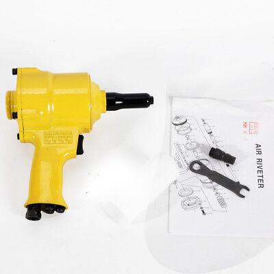 21 X 21 X 9 Cm 1600lb Traction Power Air Riveter Pneumatic Pistol Type Pop Rivet