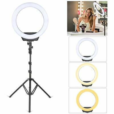 "ZOMEI 16"" inch Video Dimmable LED Ring Light Lighting Kit for YouTube Live Video"