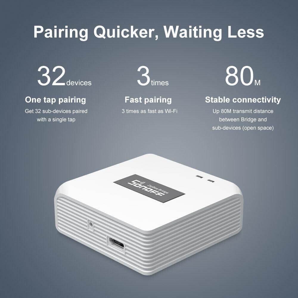 SONOFF Zigbee Bridge Gateway Smart Home Wifi Wireless Remote Switch DIY Timer
