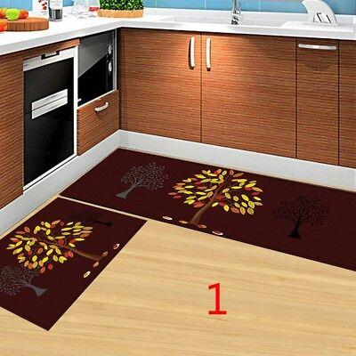 Washable Rectangle Non-Slip Kitchen Rug Bedroom Best Floor Mat Carpet