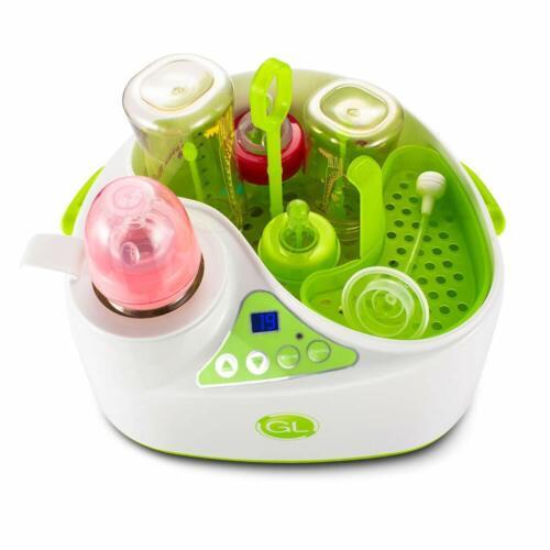 Baby Bottle Warmer Steam Sterilizer 4-in-1 Breast Milk Formula Baby Food Heater